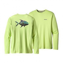 Men's Graphic Tech Fish Tee by Patagonia in Montgomery Al