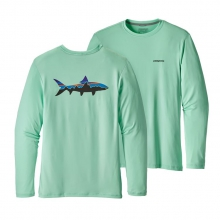 Men's Graphic Tech Fish Tee by Patagonia in Glenwood Springs CO
