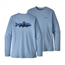 Men's Graphic Tech Fish Tee by Patagonia in Florence Al