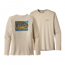 Men's Graphic Tech Fish Tee by Patagonia in Seward Ak