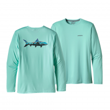 Men's Graphic Tech Fish Tee by Patagonia in Delray Beach Fl