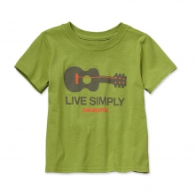 Baby Live Simply Guitar Cotton T-Shirt