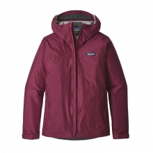 Women's Torrentshell Jacket by Patagonia in Red Deer Ab