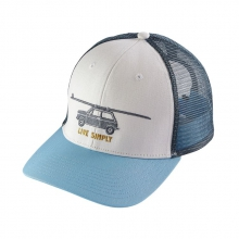 Live Simply Glider Trucker Hat by Patagonia in Tarzana Ca