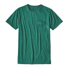Men's '73 Logo Rec Poly Pocket Responsibili-Tee by Patagonia