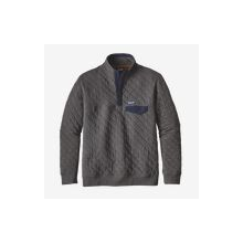 Men's Organic Cotton Quilt Snap-T Pullover by Patagonia