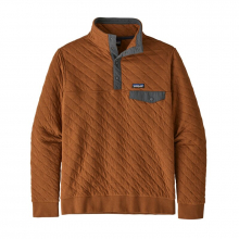 Men's Organic Cotton Quilt Snap-T Pullover by Patagonia in Canmore Ab