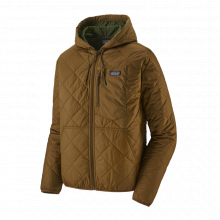 Men's Diamond Quilted Bomber Hoody