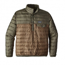 Men's Down Snap-T Pullover by Patagonia in Sylva Nc