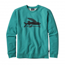 Men's Flying Fish MW Crew Sweatshirt by Patagonia