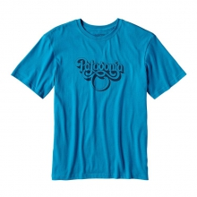 Men's Groovy Type Cotton T-Shirt by Patagonia in Columbus Ga