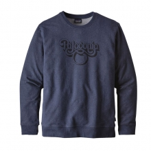 Men's Groovy Type MW Crew Sweatshirt by Patagonia