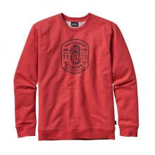 Men's Ironmongers Badge MW Crew Sweatshirt by Patagonia
