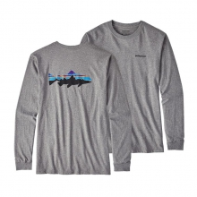 Men's L/S Fitz Roy Trout Cotton T-Shirt by Patagonia in Sioux Falls SD