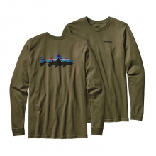 Men's L/S Fitz Roy Trout Cotton T-Shirt by Patagonia in Chattanooga Tn