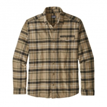 Men's LW Fjord Flannel Shirt by Patagonia in Golden Co