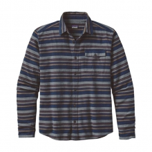Men's L/S Lightweight Fjord Flannel Shirt by Patagonia in Logan Ut