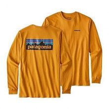 Men's L/S P-6 Logo Cotton T-Shirt by Patagonia in Chandler Az