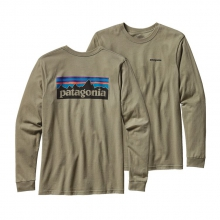 Men's L/S P-6 Logo Cotton T-Shirt by Patagonia in Ellicottville Ny