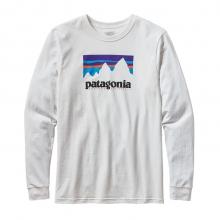 Men's L/S Shop Sticker Cotton T-Shirt