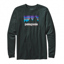 Men's L/S Shop Sticker Cotton T-Shirt by Patagonia in Columbus Ga