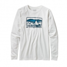 Men's L/S Spruced '73 Cotton T-Shirt by Patagonia in Okemos Mi