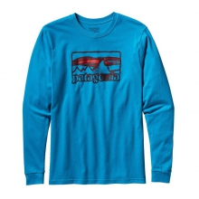 Men's L/S Spruced '73 Cotton T-Shirt by Patagonia