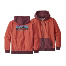 Men's P-6 Logo MW Full-Zip Hoody by Patagonia