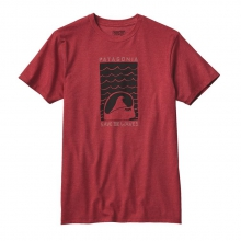 Men's Save The Waves Sleep Stoked Cotton/Poly T-Shirt by Patagonia