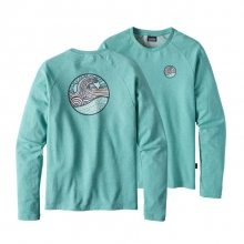 Men's Set Wave Lightweight Crew Sweatshirt by Patagonia
