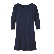 Women's Kamala 3/4 Sleeve Dress by Patagonia in Wakefield Ri