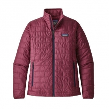 Women's Nano Puff Jacket by Patagonia in Red Deer Ab