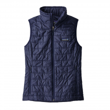 Women's Nano Puff Vest by Patagonia in Squamish Bc
