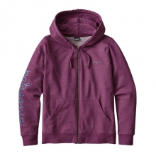 Women's Rope Script MW Full-Zip Hoody by Patagonia