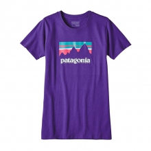 Women's Shop Sticker Cotton/Poly Responsibili-Tee by Patagonia in Wakefield Ri