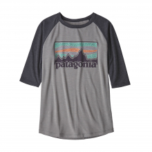 Boys' 1/2 Sleeve Graphic Tee by Patagonia