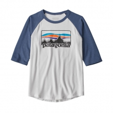 Boys' 1/2 Sleeve Graphic Tee by Patagonia in Red Deer Ab