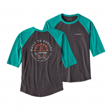 Boys' 1/2 Sleeve Graphic Tee by Patagonia in Auburn Al