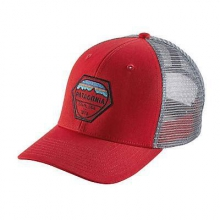 Fitz Roy Hex Trucker Hat by Patagonia in Bakersfield Ca