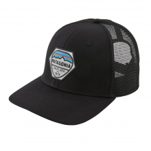 Fitz Roy Hex Trucker Hat by Patagonia in Iowa City IA