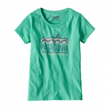 Girls' Femme Fitz Roy Cotton/Poly T-Shirt by Patagonia in Wakefield Ri