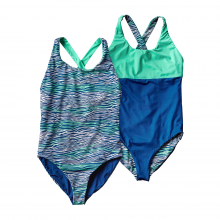 Girls' Reversible Water Luvin' One Piece