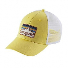 Line Logo Badge LoPro Trucker Hat by Patagonia in Bend Or