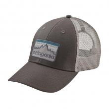 Line Logo Badge LoPro Trucker Hat by Patagonia in Coeur Dalene Id