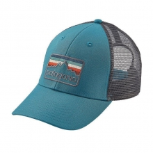 Line Logo Badge LoPro Trucker Hat by Patagonia in Evanston Il