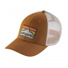 Line Logo Badge LoPro Trucker Hat by Patagonia in Costa Mesa Ca