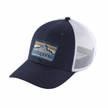 Line Logo Badge LoPro Trucker Hat by Patagonia in Bluffton Sc