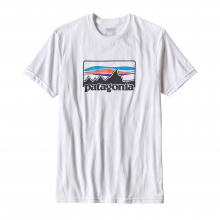 Men's '73 Logo Cotton/Poly T-Shirt by Patagonia