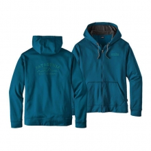 Men's Arched Type '73 PolyCycle Full-Zip Hoody by Patagonia