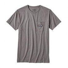 Men's Board Short Label Cotton/Poly Pocket T-Shirt